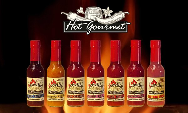 Scovillas Hot Gourmet Sauce 148ml