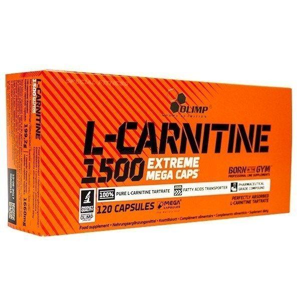 Olimp L-Carnitine 1500 Extreme Mega Caps 120 Kapseln
