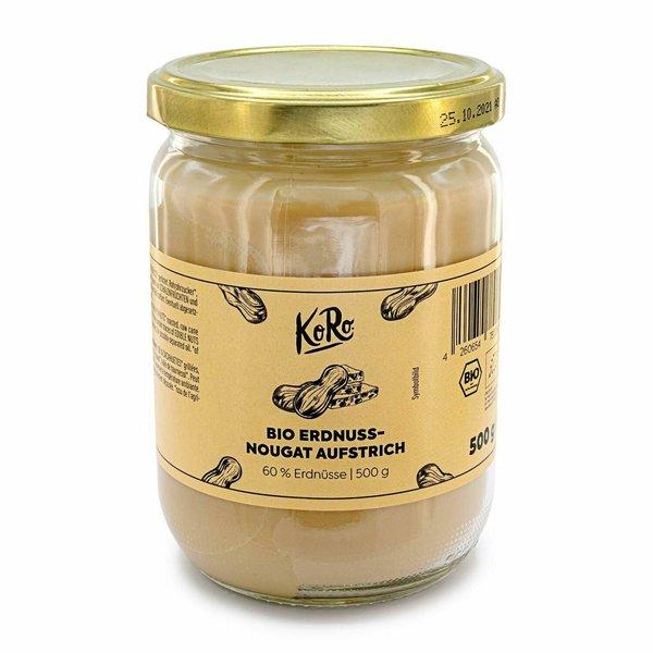 KoRo Bio Erdnuss-Nougat Aufstrich | 500g