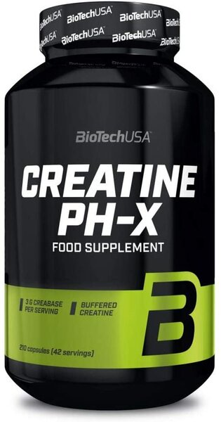 BioTech USA CREATINE PH-X 210 Kapseln