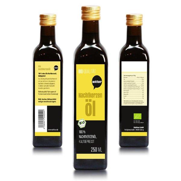 Wohltuer Bio NachtkerzenölNativ gepresst und 100%rein Naturpur 250ml