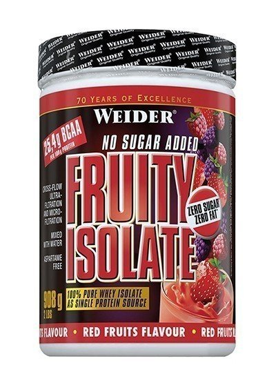 Weider Fruity Isolate 908g Dose