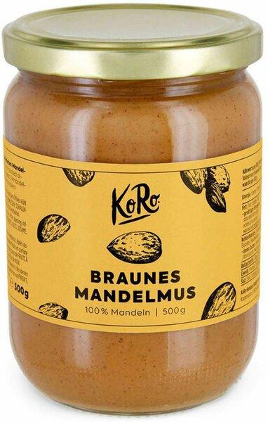 Koro Mandelmus Braun 500 g