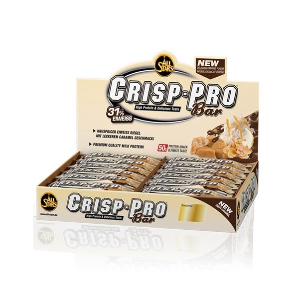All Stars Crisp-Pro Bar, 24 x 50g Riegel