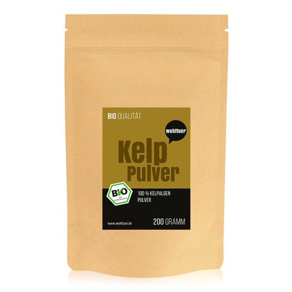 Wohltuer Bio Kelp Pulver 200g