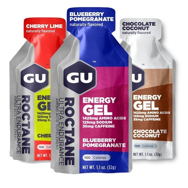 GU ROCTANE Energy Gel Energie Ausdauer Marathon Gel 24x 32g Box