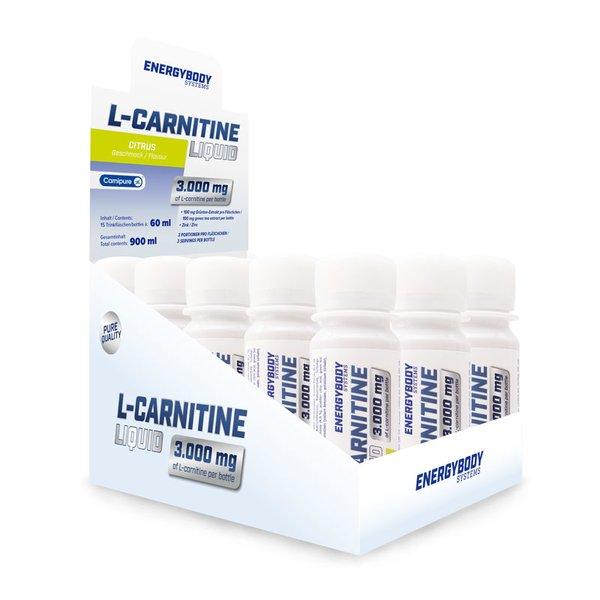 Energybody L-Carnitine Liquid Citrus 15 x 60ml Shot