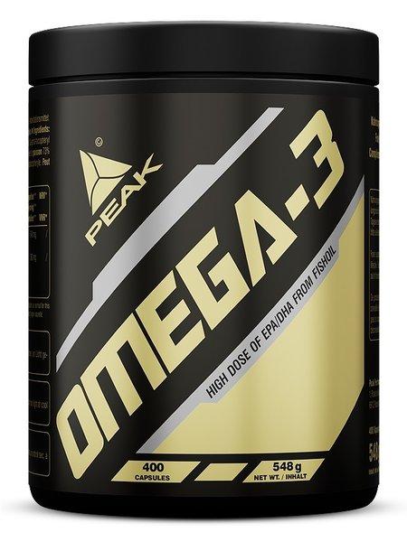 Peak Omega 3 400 Kapseln Caps Fettsäuren Fisch Öl