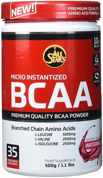 All Stars BCAA Powder 500g Dose