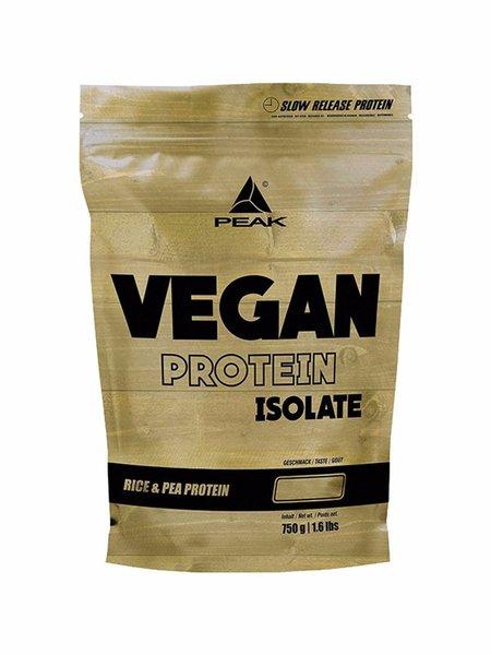 Peak Vegan Protein Isolate 750g Beutel