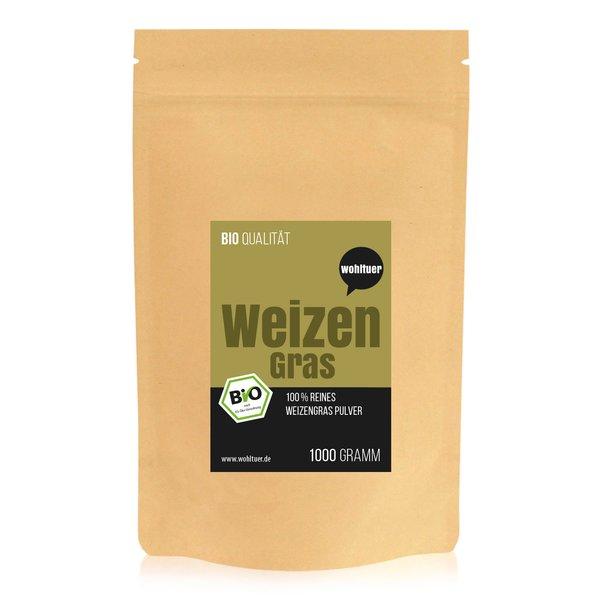 Wohltuer Bio Weizengraspulver 1000g