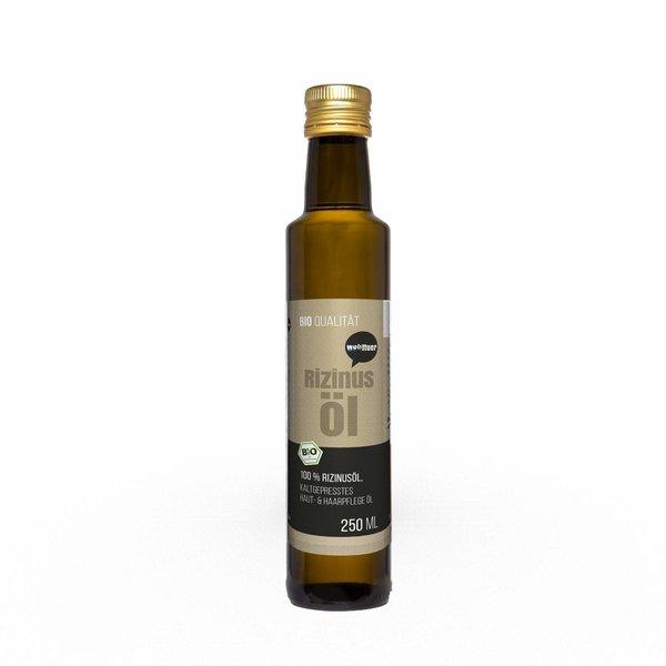 Wohltuer Bio Rizinusöl Haut Essentiellen Omega-Fettsäuren 250ml