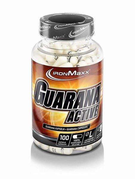 Ironmaxx - Guarana Active, 100 Kapseln a 800mg