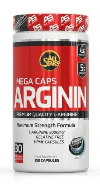 All Stars - Arginin Mega Caps 150 Kapseln