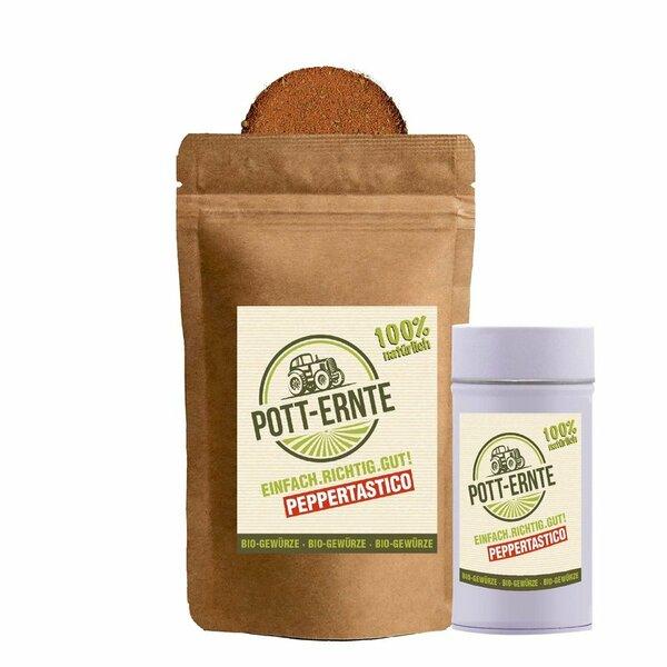 Pott-Ernte Bio Peppertastico 100g mit DOSE