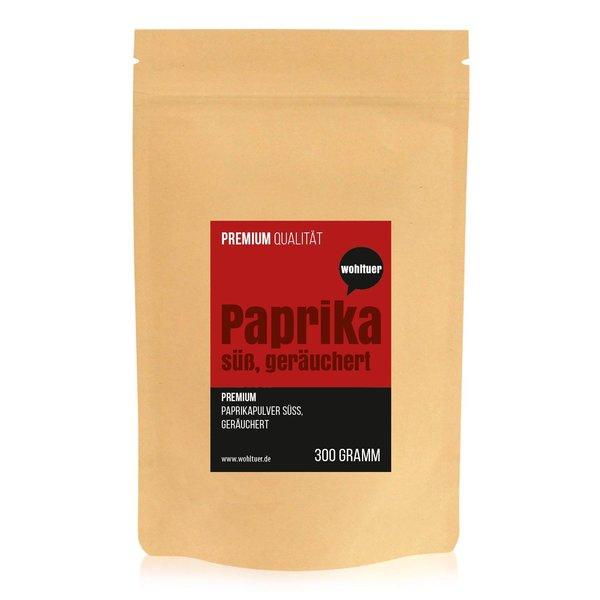 Wohltuer Premium Qualität Paprikapulver geräuchert süß gemahlen 300g