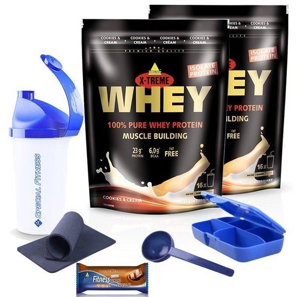 Inko X-treme Whey Protein 2 x 500g Beutel