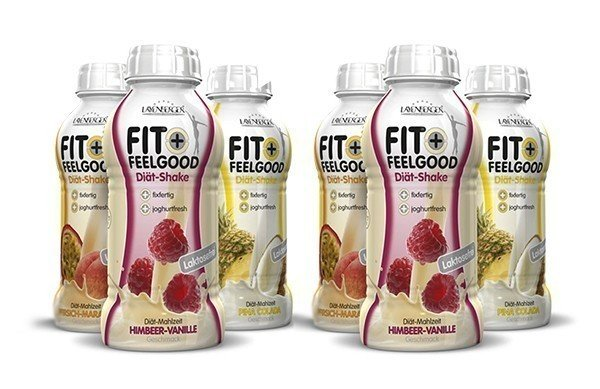 Layenberger Fit+Feelgood Diät-Shake Ready to Drink 6er Pack (6x 312ml)
