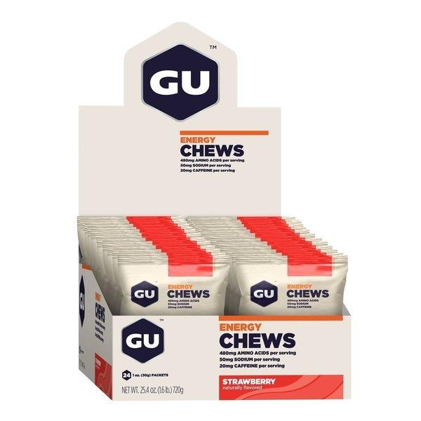 GU Energy Chews Fruchtgummi Box (24x 30g)
