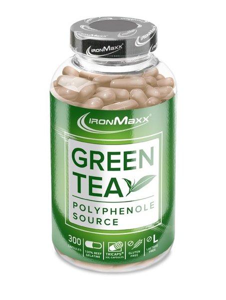 Ironmaxx Green Tea XXL Grüntee Extrakt 300 Kapseln