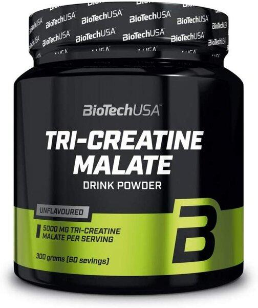 Biotech Tri Creatine Malate - 300g Dose Bodybuilding