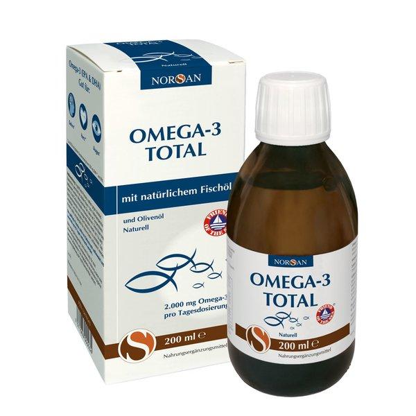 Norsan Omega-3 Total Fischöl 2.000 mg flüssig 200ml