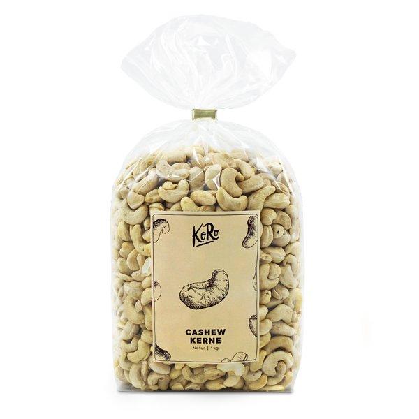 Koro Cashewkerne natur unbehandelt Nüsse Nuss ohne Zusätze ungeröstet 1kg