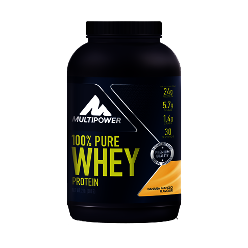 Multipower 100%* Pure Whey Protein (900g Dose)
