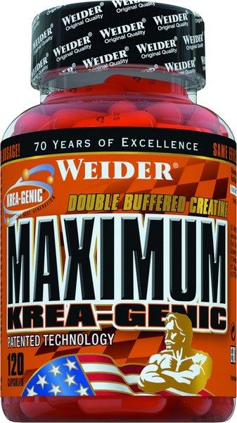 Weider Maximum KREA-Genic 120 Kapseln à 750mg