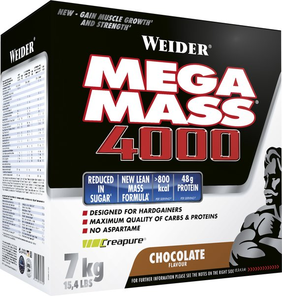Weider Giant Mega Mass 4000, 7000g Vorratskarton