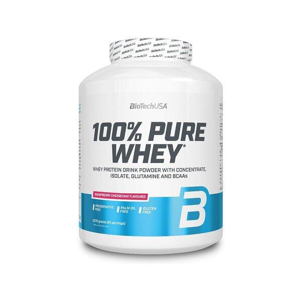 BioTech USA 100% Pure Whey 2270g Dose