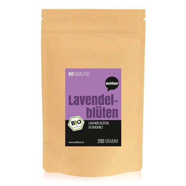 Wohltuer Bio Lavendelblüten 200gBeutel
