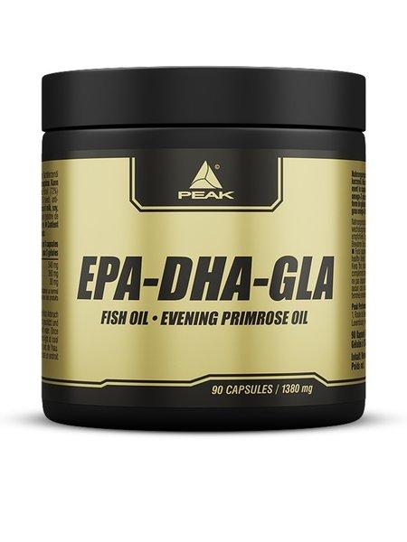Peak EPA-DHA-GLA 90 Kapseln Dose Omega 3 Fischöl Fettsäuren
