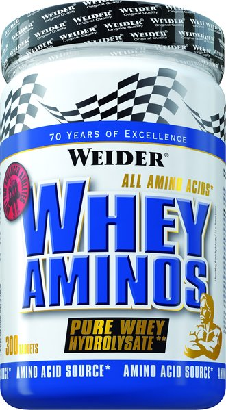 Weider Whey Aminos | 300 Tabletten à 1600mg