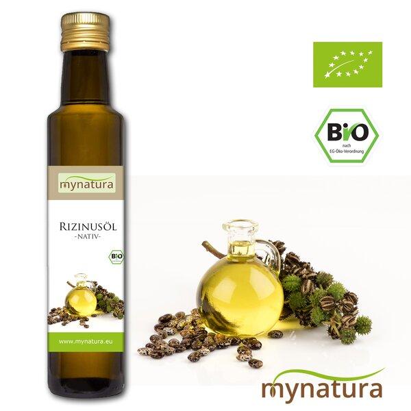 Mynatura Bio Rizinusöl, kaltgepresst