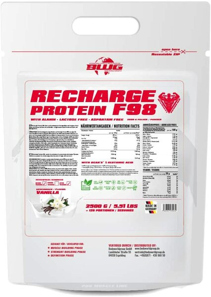 BWG Recharge Protein, 2,5kg Beutel