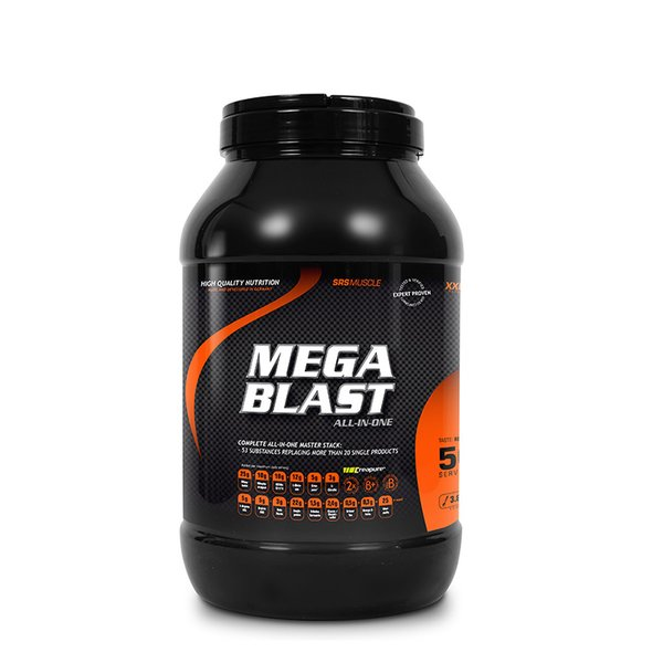 SRS Muscle Mega Blast All-in-one Red Berry 3800 g Dose