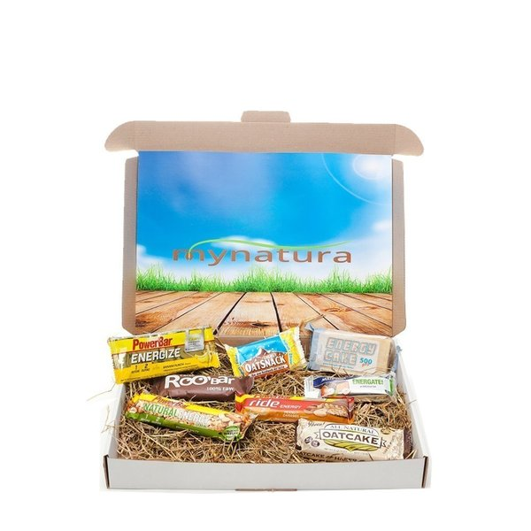 Mynatura Energy Bar (8 Riegel Sample Box) (ELF, Davina, Powerbar, Multipower)