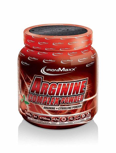 Ironmaxx Arginine Complex Powder 450g Dose