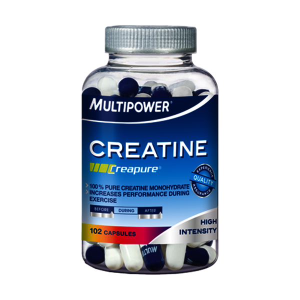 Multipower Creatine (Creapure®), 102 Kapseln