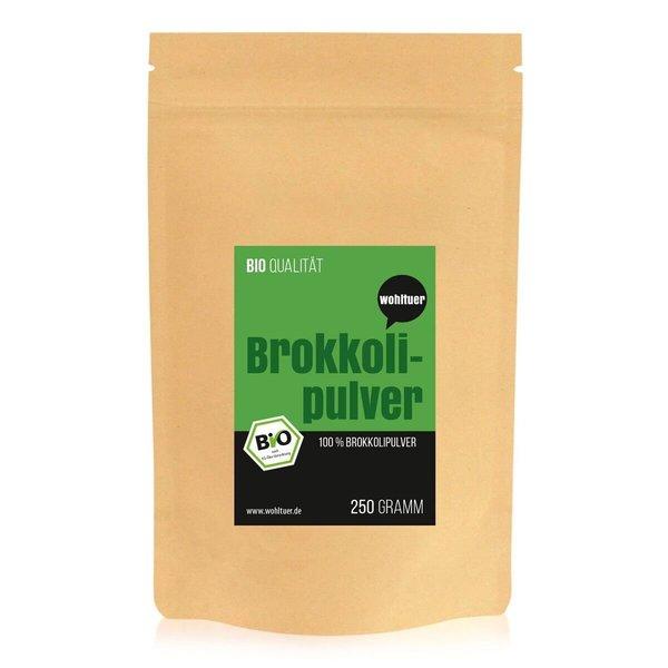 Wohltuer Bio Brokkoli Pulver 250 g Beutel