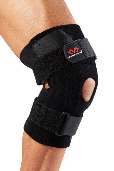 McDavid 420 Universal Kniestütze mit Patellaöffnung, Kniebandage Kniestütze