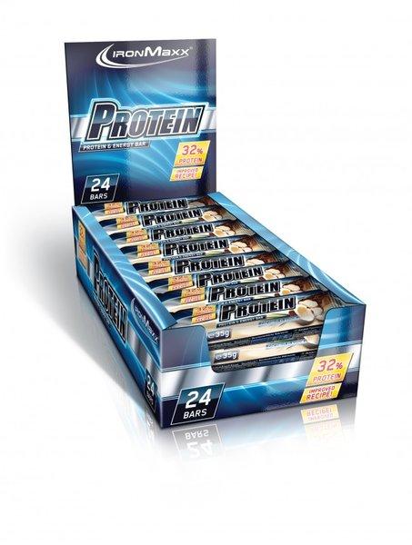 Ironmaxx Proteinriegel 32%, 24 Riegel a 35g!