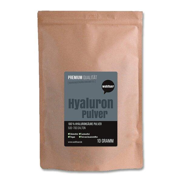 Wohltuer Premium Hyaluron Pulver 10g