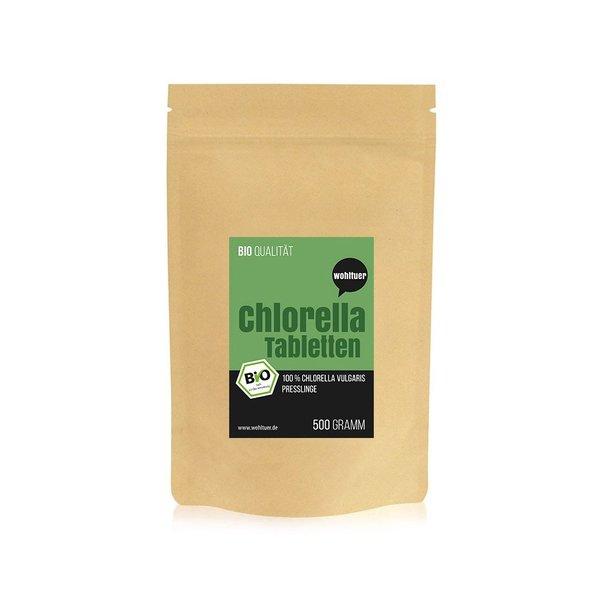 Wohltuer Bio Chlorella Tabletten 500g