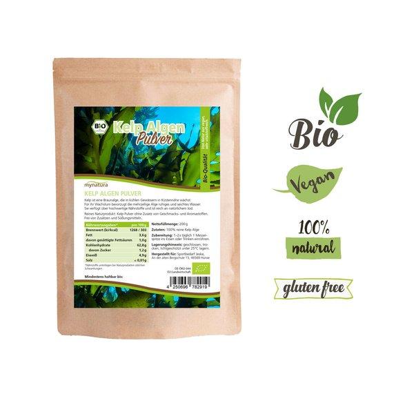 Mynatura Bio Kelp Algen Pulver 200g