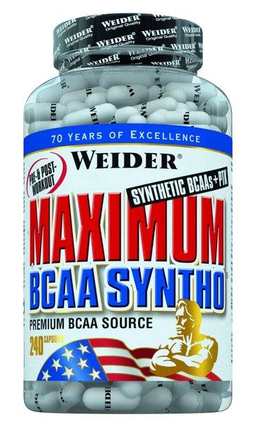 Weider Maximum BCAA Syntho +PTK | 240 Kapseln
