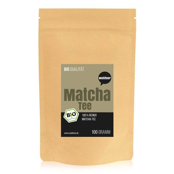Wohltuer Bio Matcha Tee Grüntee aus Japan 100g