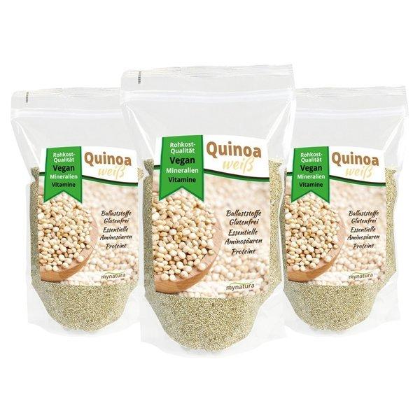Mynatura Quinoa Samen 3er Pack (3x 1000g Beutel)