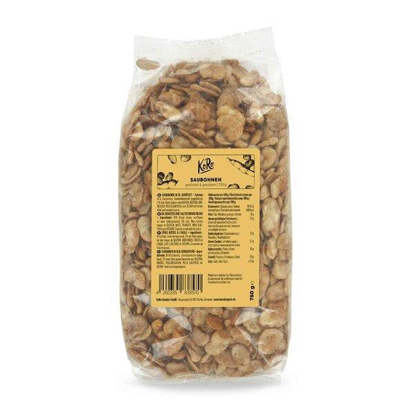 KoRo Saubohnen geröstet & gesalzen 750g